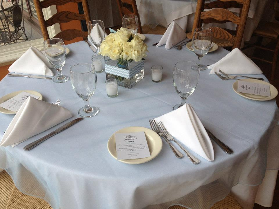 Chef Andrea Covino will design a menu for your catered event for 12 to 100 people