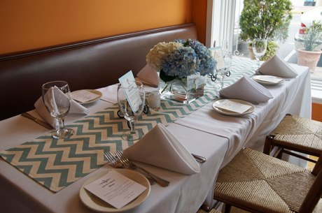 Andrea Trattoria Italiana offers on- and off-premises catering.